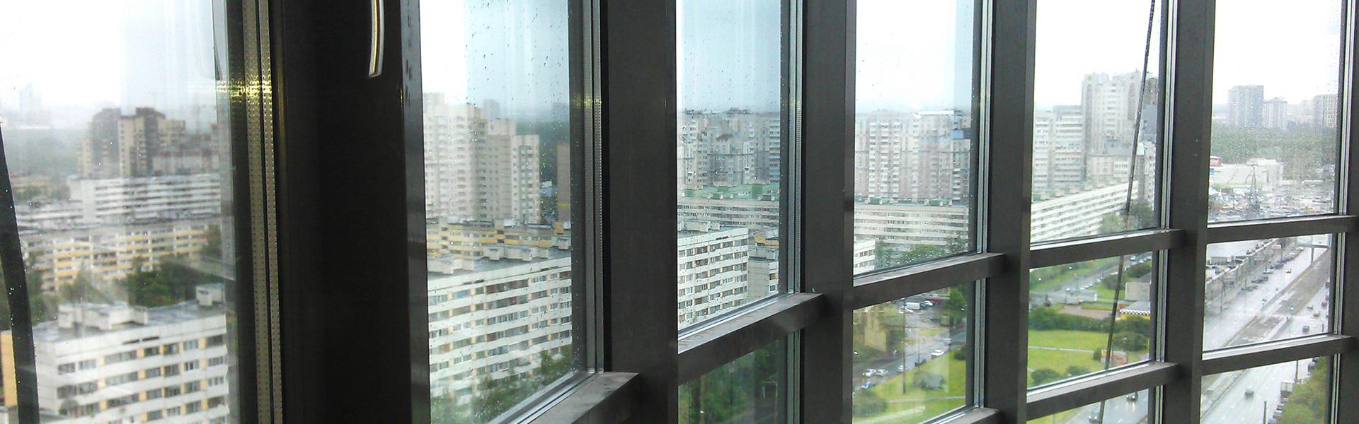 Алюминиевые балконы фон записи
